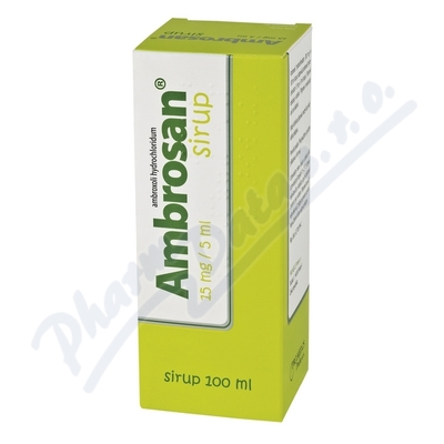 Ambrosan 15mg/5ml Sirup por.sir.1x100ml/300mg