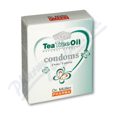 Tea Tree Oil kondomy 3ks Dr.Müller - EXP 02/2025