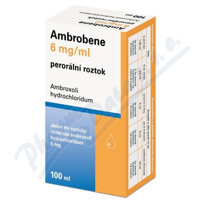 Ambrobene 6mg/ml por.sol.1x100ml/600mg+adapt