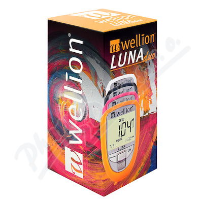 Glukometr Wellion LUNA DUO set bílý