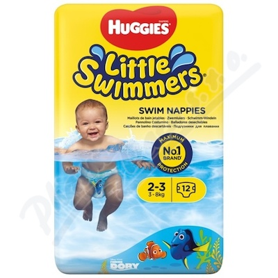 HUGGIES Little Swimmers vel.2-3 3-8kg 12ks