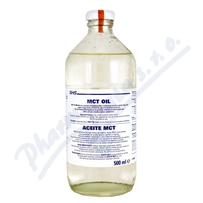MCT-Oil por.oil 1x500ml plast