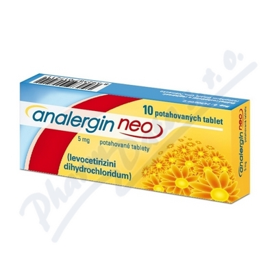 Analergin Neo 5mg por.tbl.flm. 10x5mg