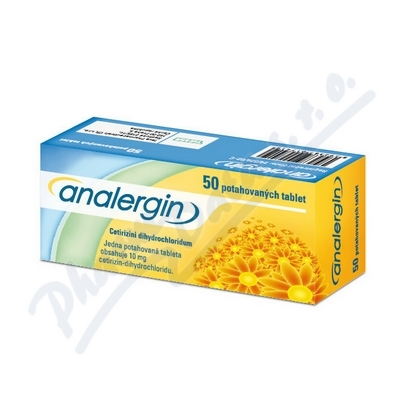 Analergin por.tbl.flm. 50x10mg