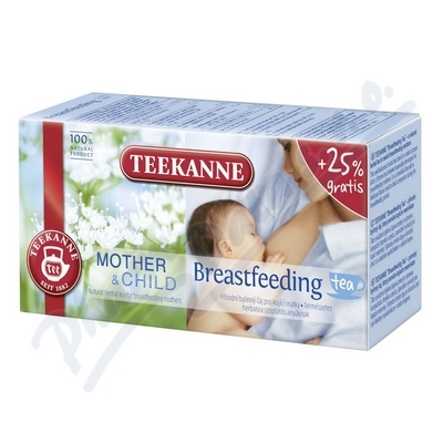 TEEKANNE MotherΧld Breastfeeding Tea 20x1.8g