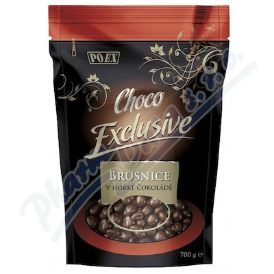 POEX Choco Exclusive Brusnice v hořké čoko.700g