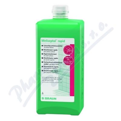 Meliseptol Rapid 1000ml Dezinfekční roztok Cent