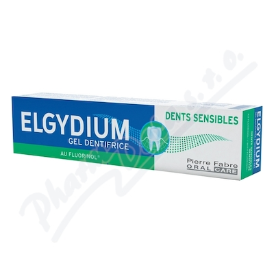 ELGYDIUM SENSITIVE gel.ZP s fluorinolem 75ml