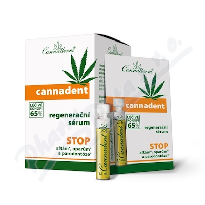 Cannaderm Cannadent sérum 10x1.5ml