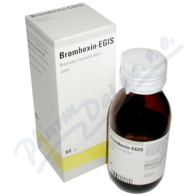 Bromhexin - Egis sol.1x60ml/120mg