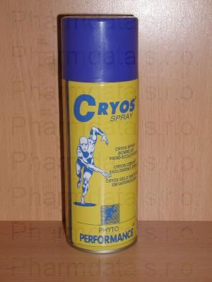 CRYOS SPRAY - syntetický led ve spreji 400 ml