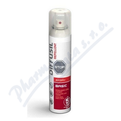 Diffusil repelent Basic spray 150ml