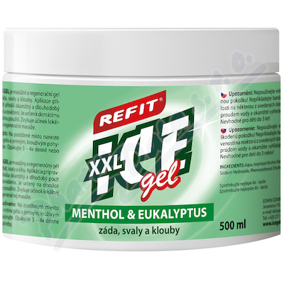 Refit Ice gel Menthol&Eukalyptus XXL 500ml