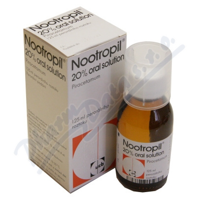 Nootropil 20% Oral Solution por.sol.1x125ml - EXP 11/2021 (Výprodej)