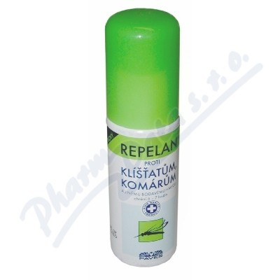 REPELAN Nový-spray proti klíšť.+kom.aj.50ml PAVES