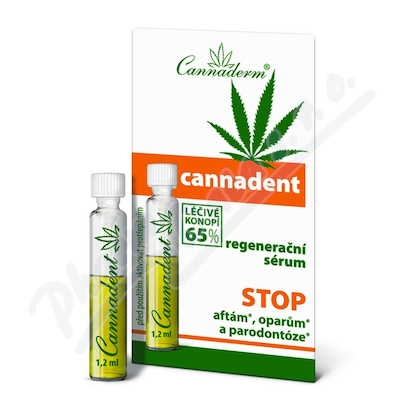 Cannaderm Cannadent sérum 10x1.2ml