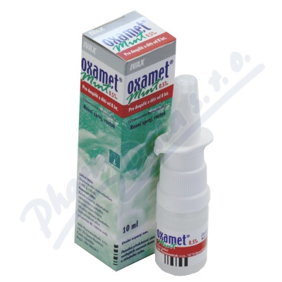 Oxamet Mint 0.5pm nas.spr.sol.1x10ml